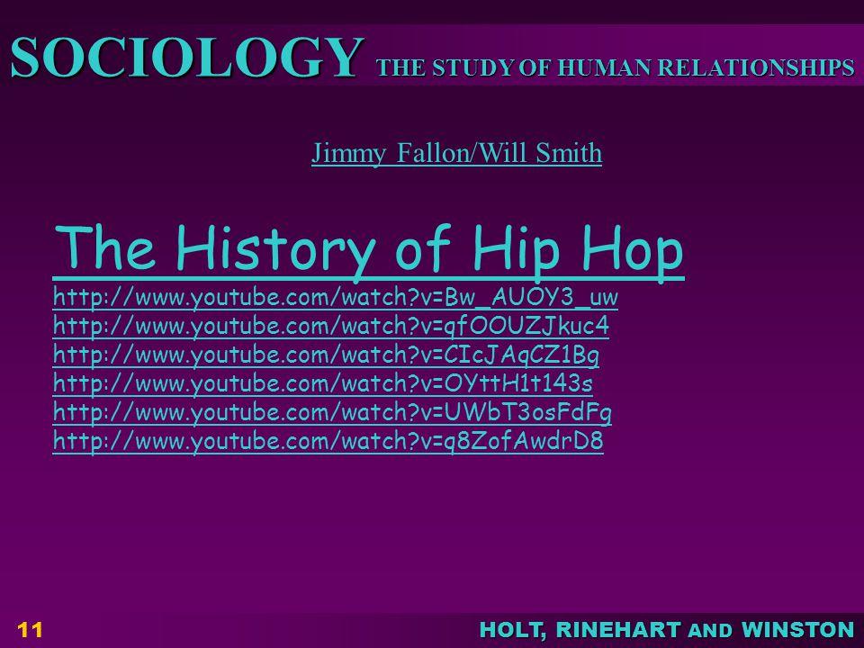 The History of Hip Hop Jimmy Fallon/Will Smith