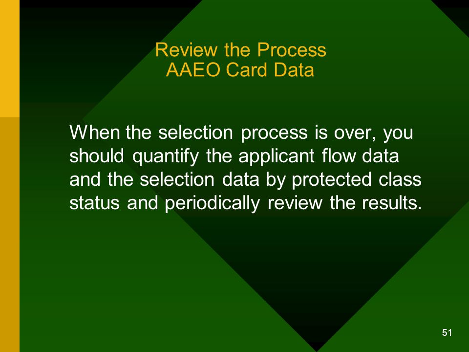 Review the Process AAEO Card Data