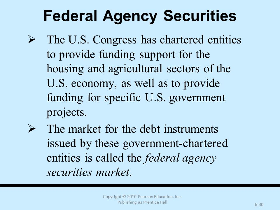 Federal Agency Securities