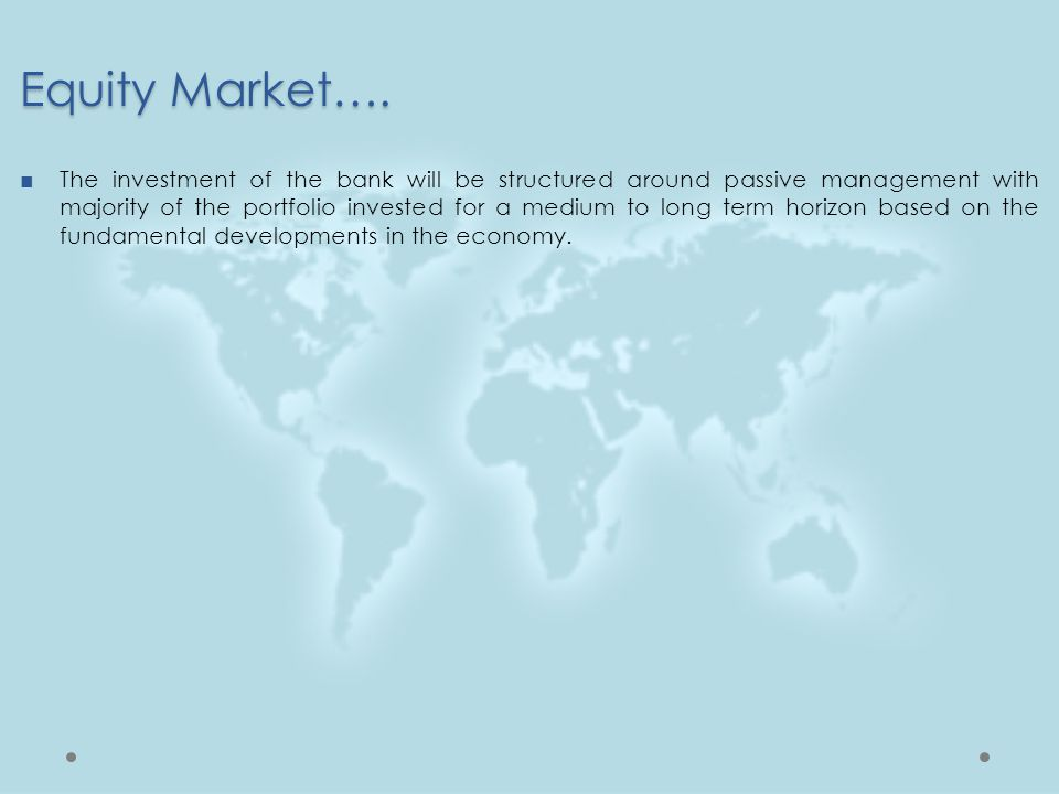 Equity Market….