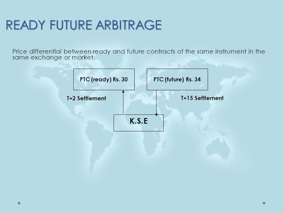 READY FUTURE ARBITRAGE