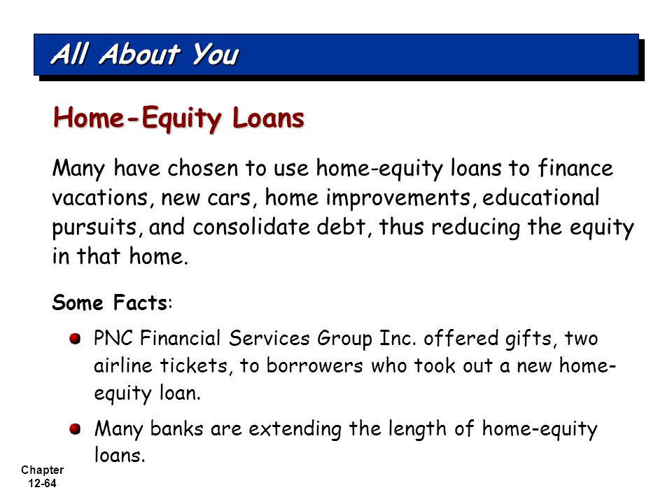 All About You Home-Equity Loans