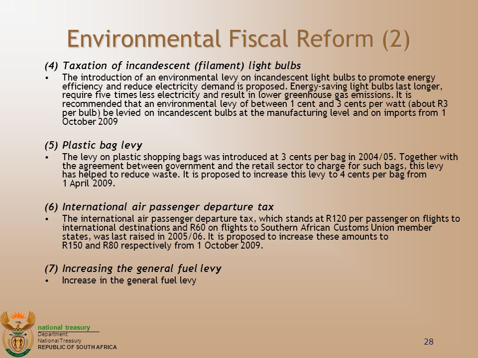 Environmental Fiscal Reform (2)