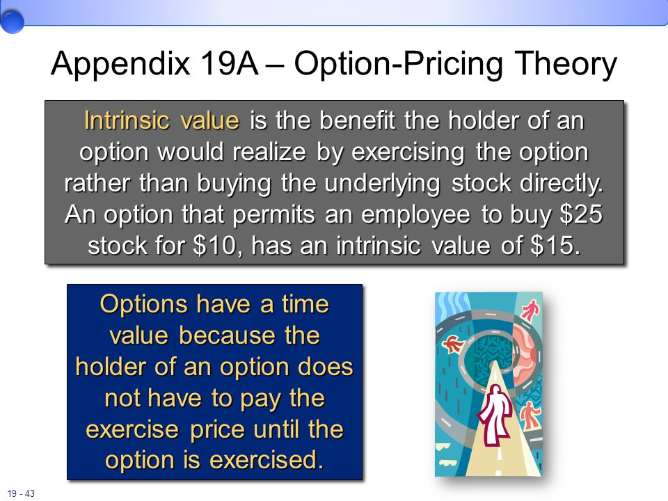 Appendix 19A – Option-Pricing Theory