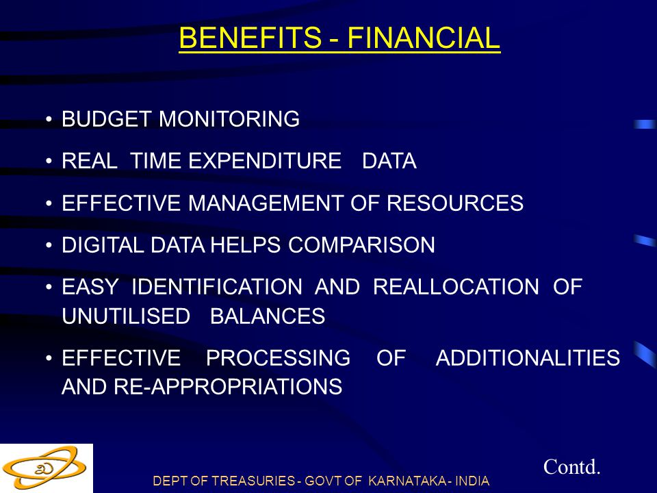 BENEFITS - FINANCIAL BUDGET MONITORING REAL TIME EXPENDITURE DATA