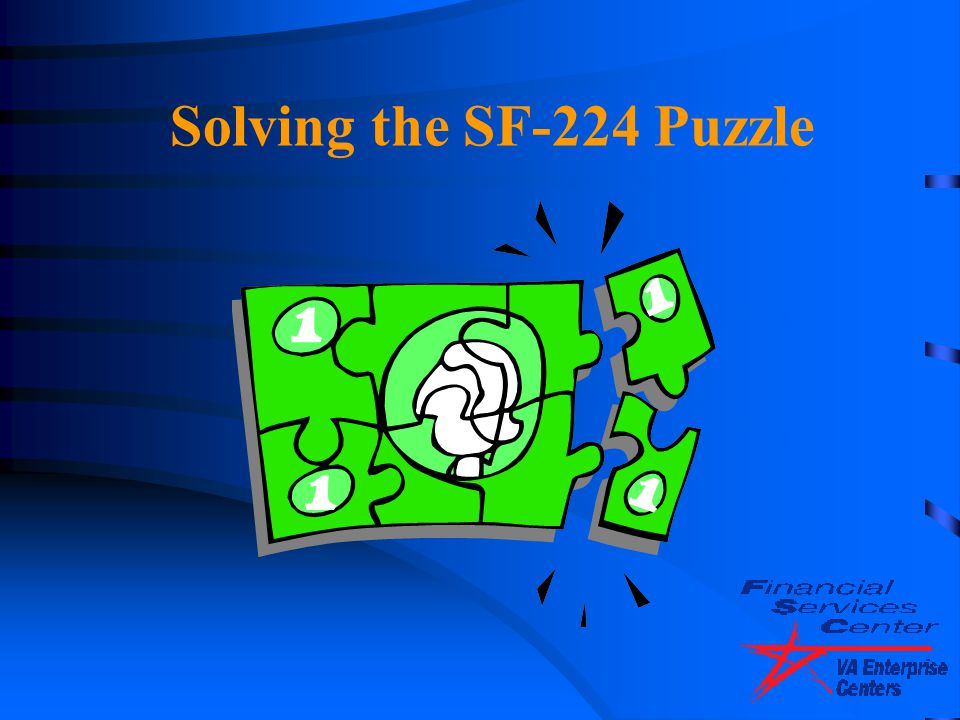 4/14/2017 Solving the SF-224 Puzzle