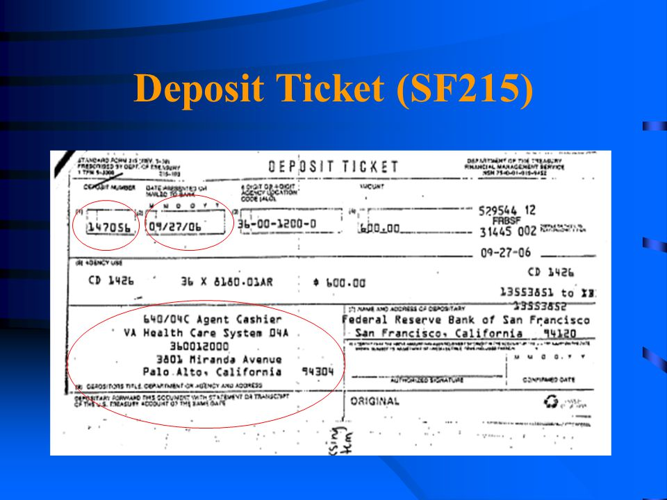 4/14/2017 Deposit Ticket (SF215)