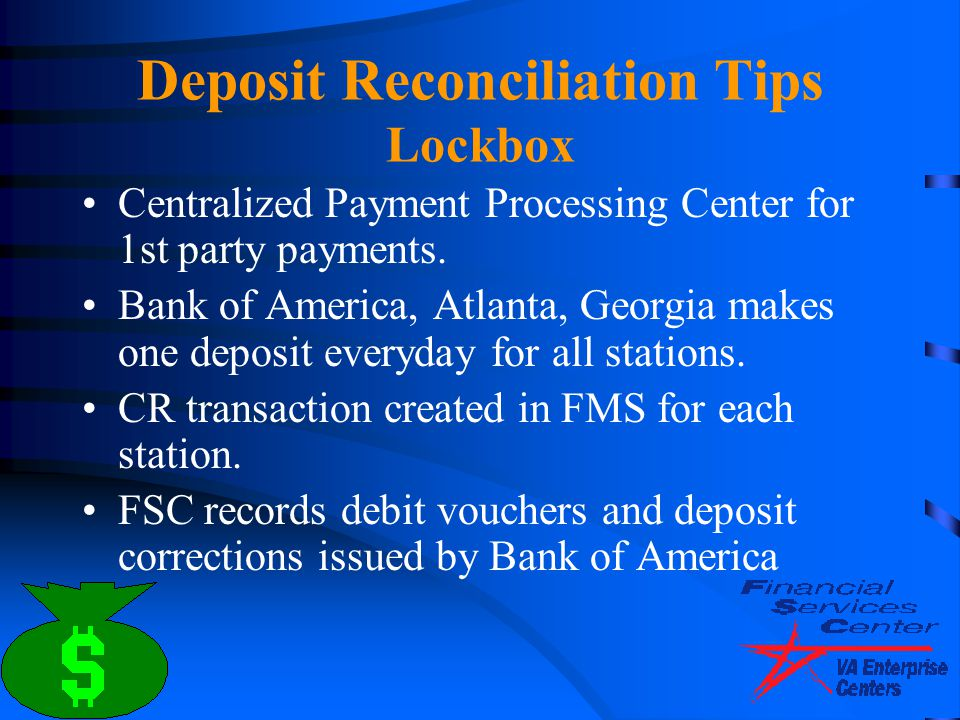 Deposit Reconciliation Tips Lockbox