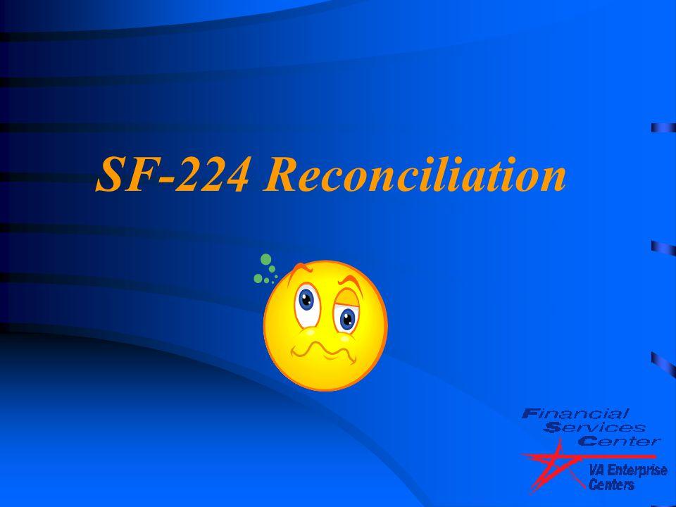 4/14/2017 SF-224 Reconciliation.