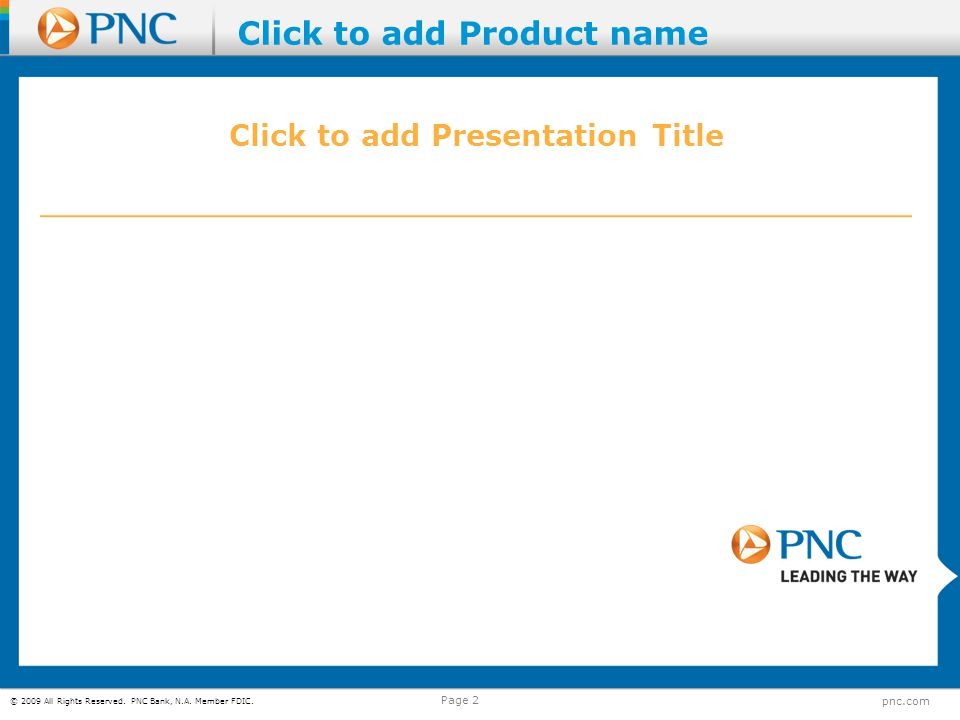 Click to add Presentation Title