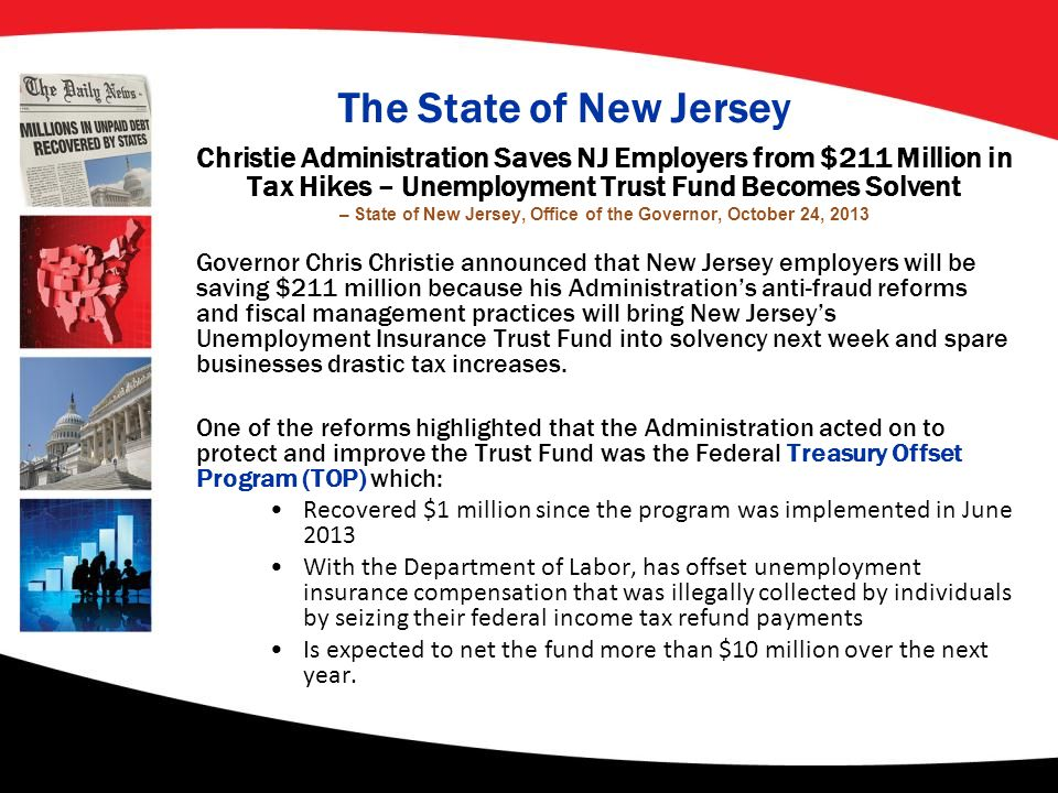 – State of New Jersey, Office of the Governor, October 24, 2013