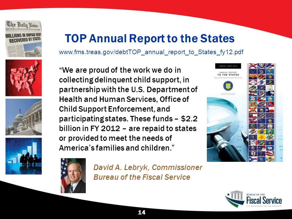 TOP Annual Report to the States