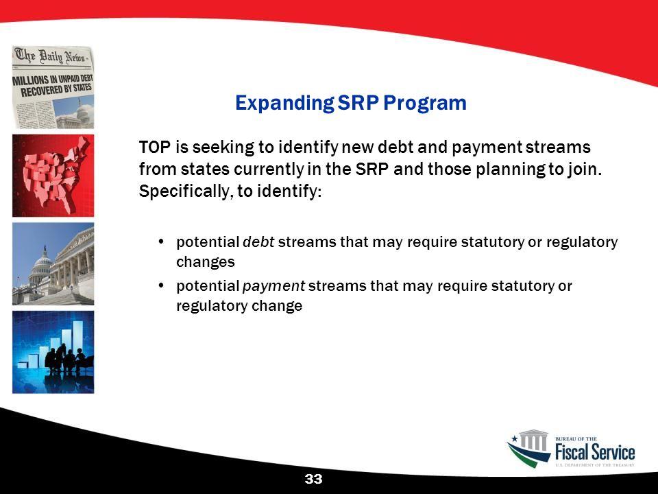 Expanding SRP Program