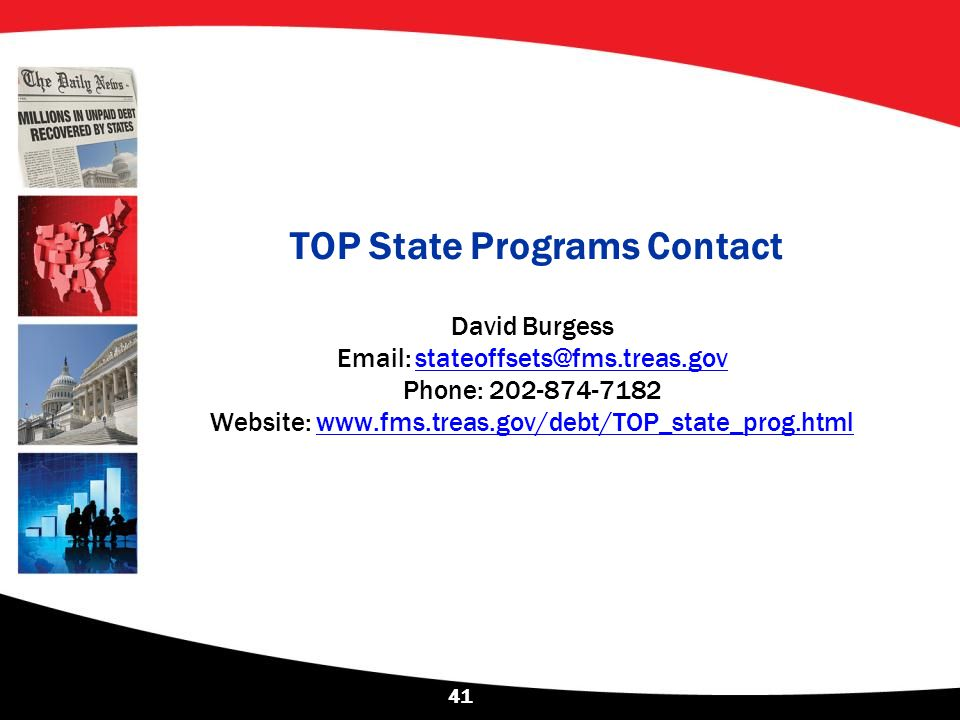 TOP State Programs Contact
