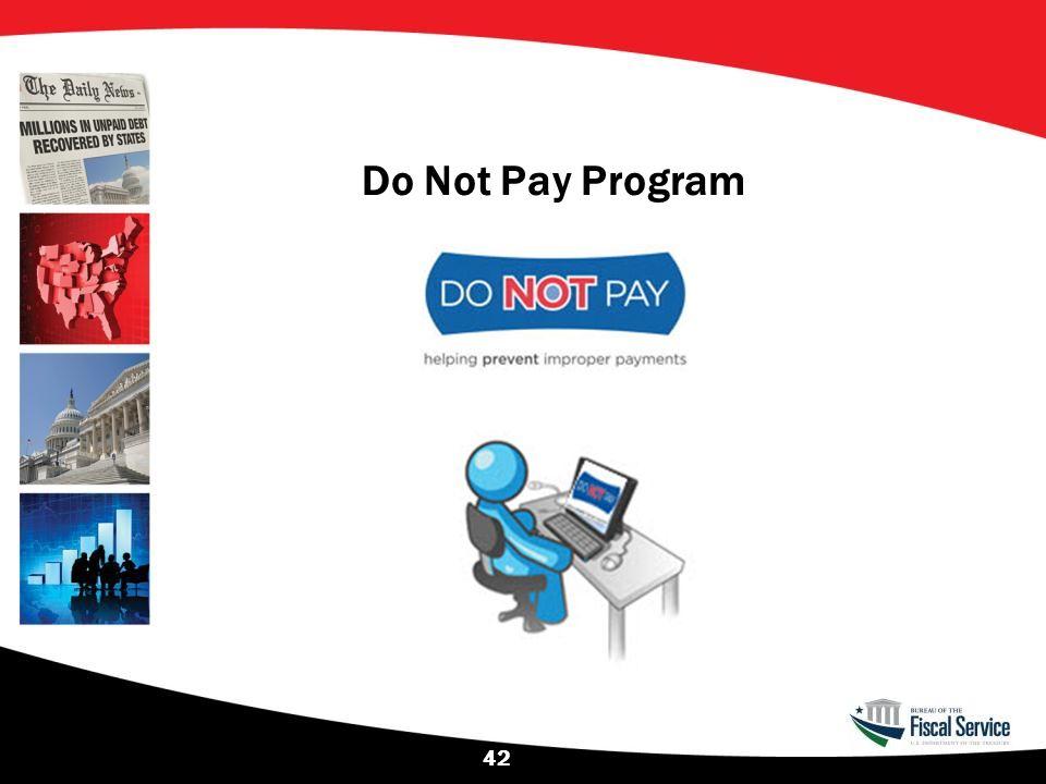 Do Not Pay Program