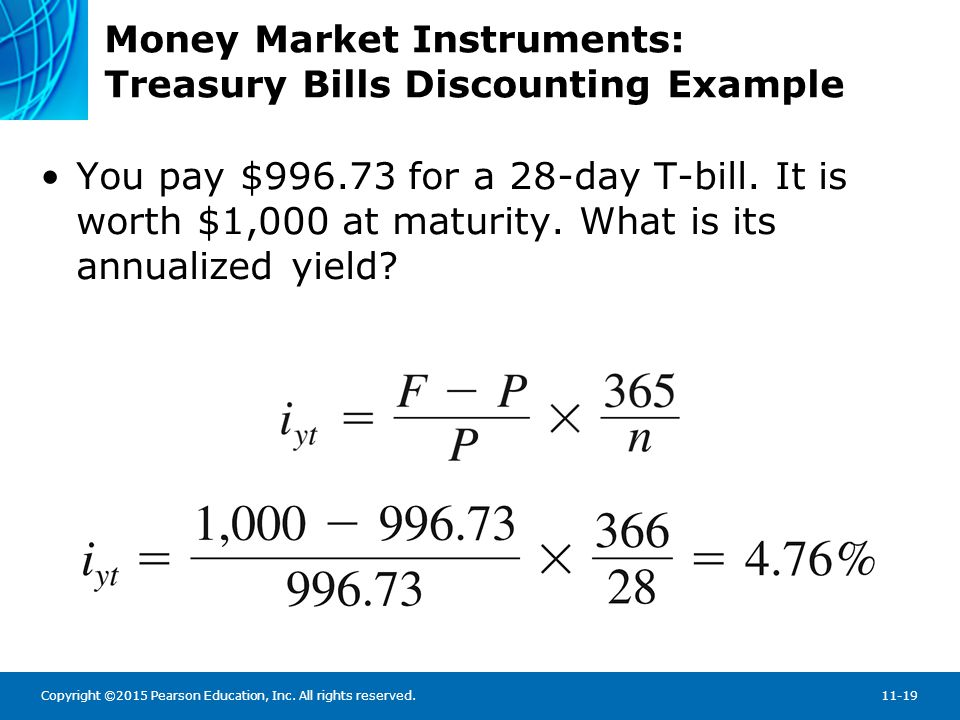 Money Market Instruments: Treasury Bill Auction Results