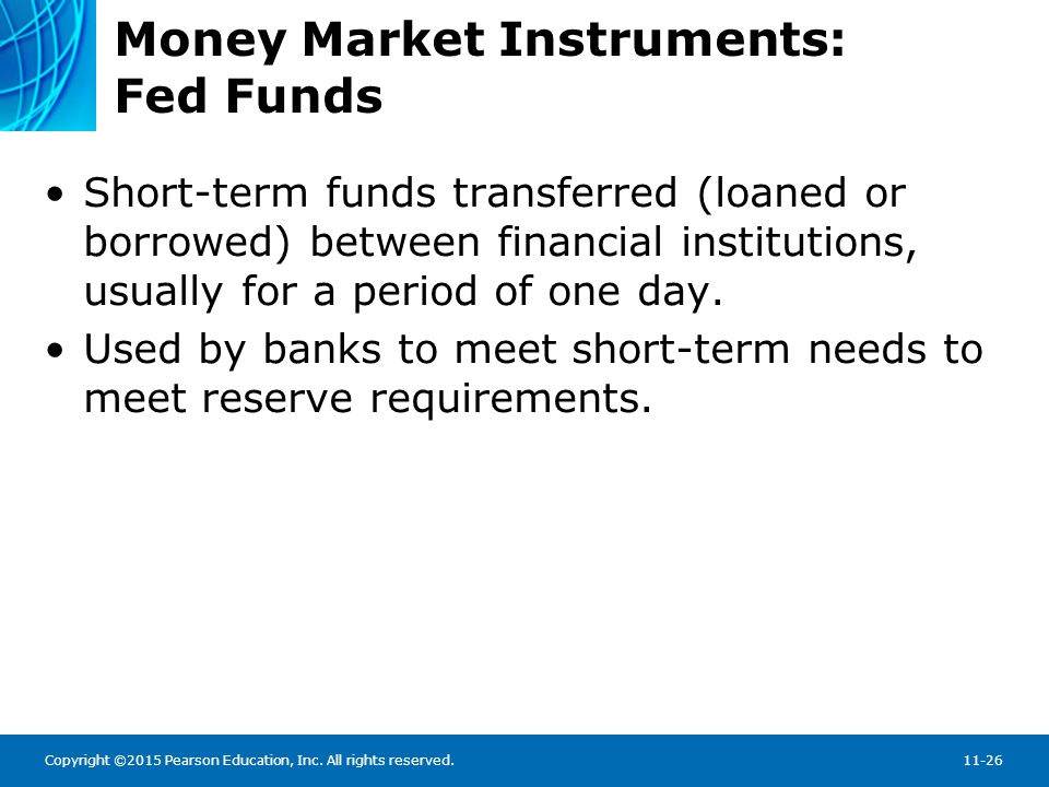 Money Market Instruments: Fed Funds Rates