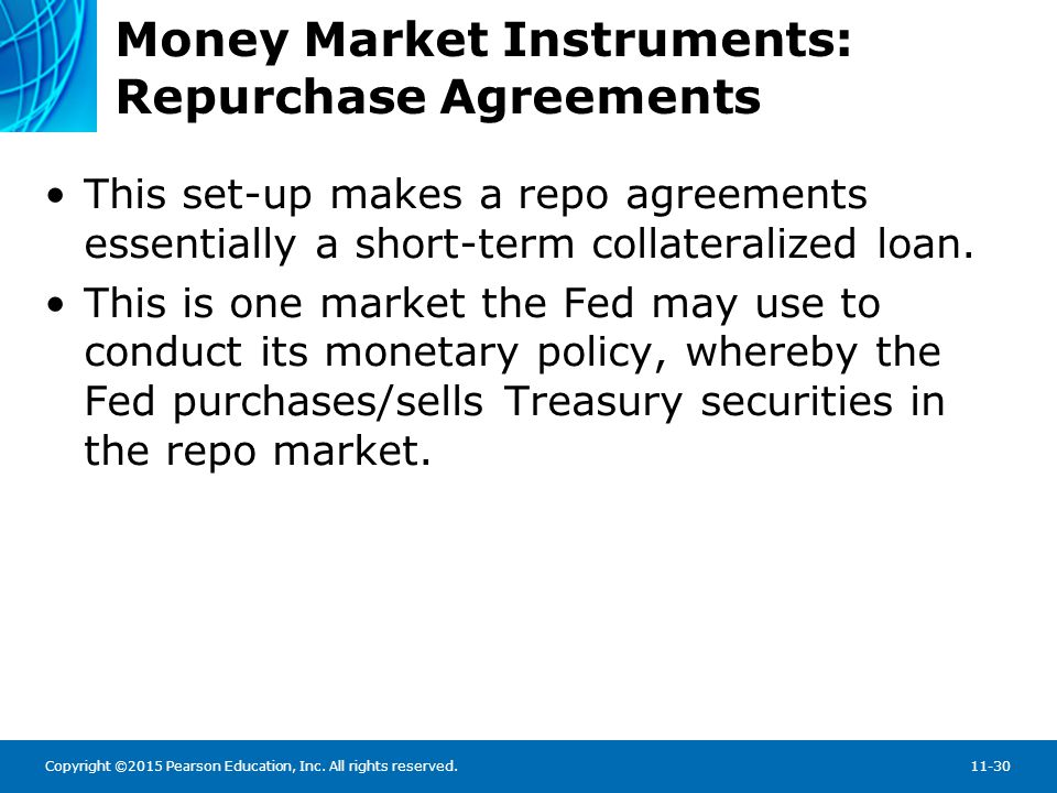 Money Market Instruments: Negotiable Certificates of Deposit