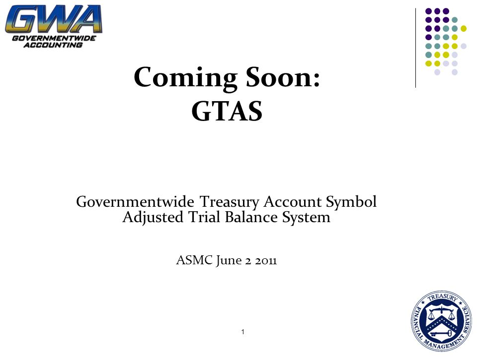 Governmentwide Treasury Account Symbol Adjusted Trial Balance System