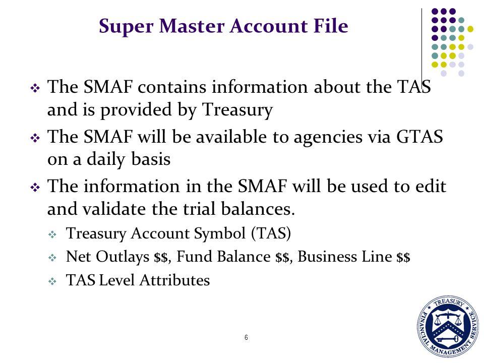 Super Master Account File