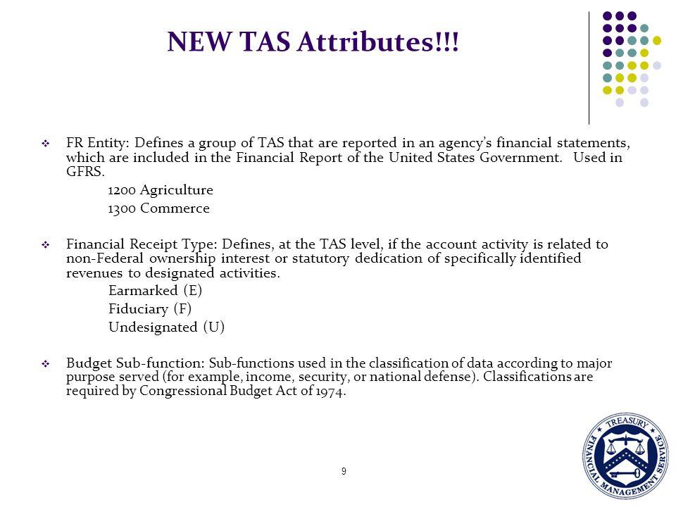 NEW TAS Attributes!!!