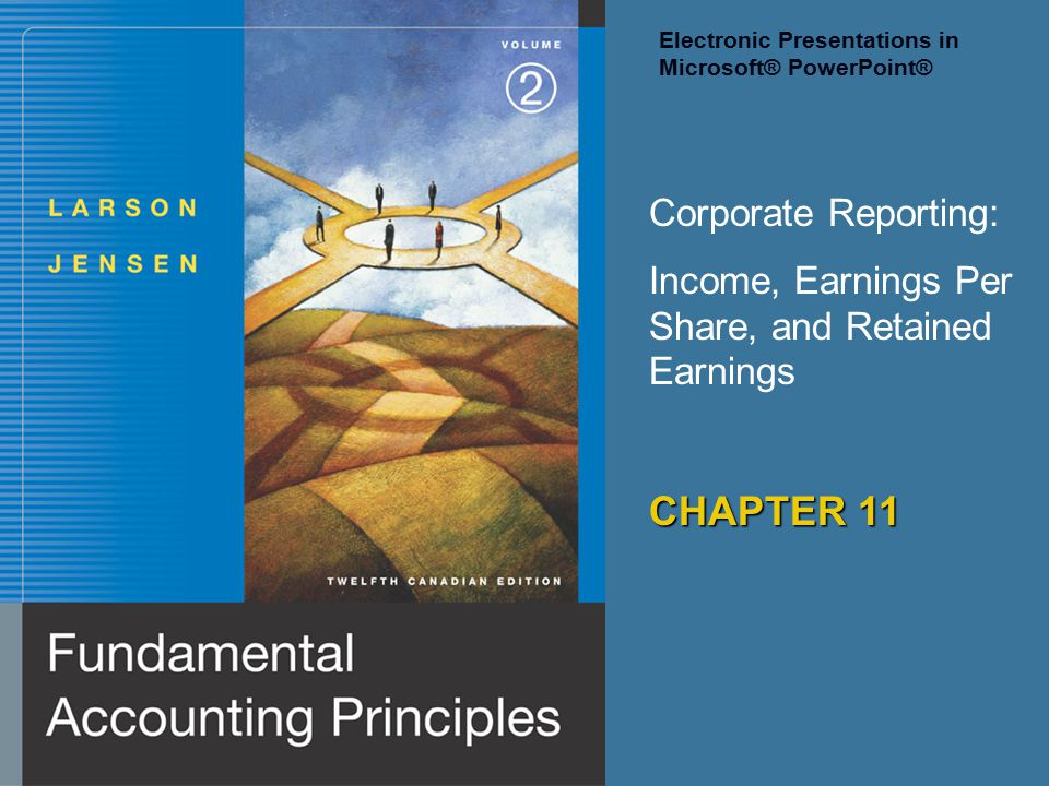 CHAPTER 11 Corporate Reporting: