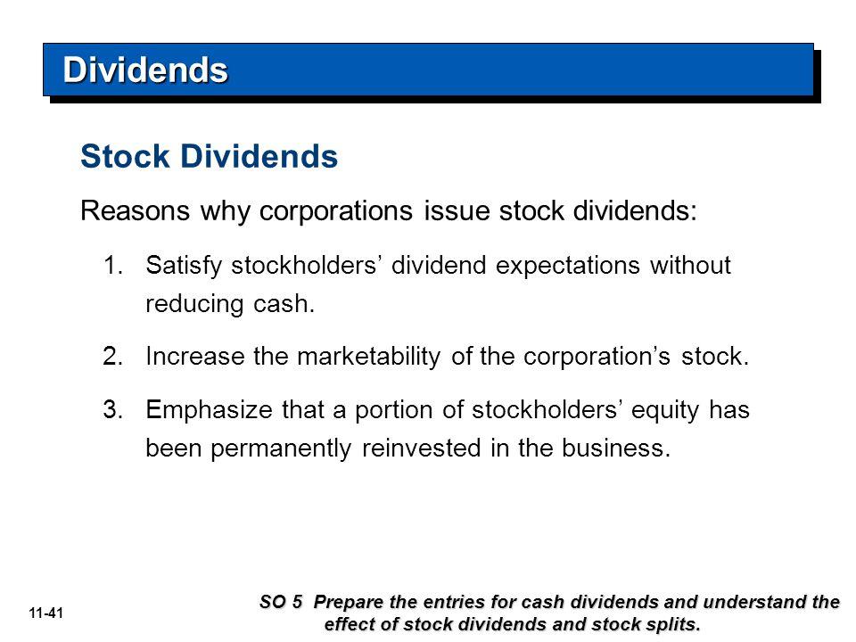 Dividends Stock Dividends