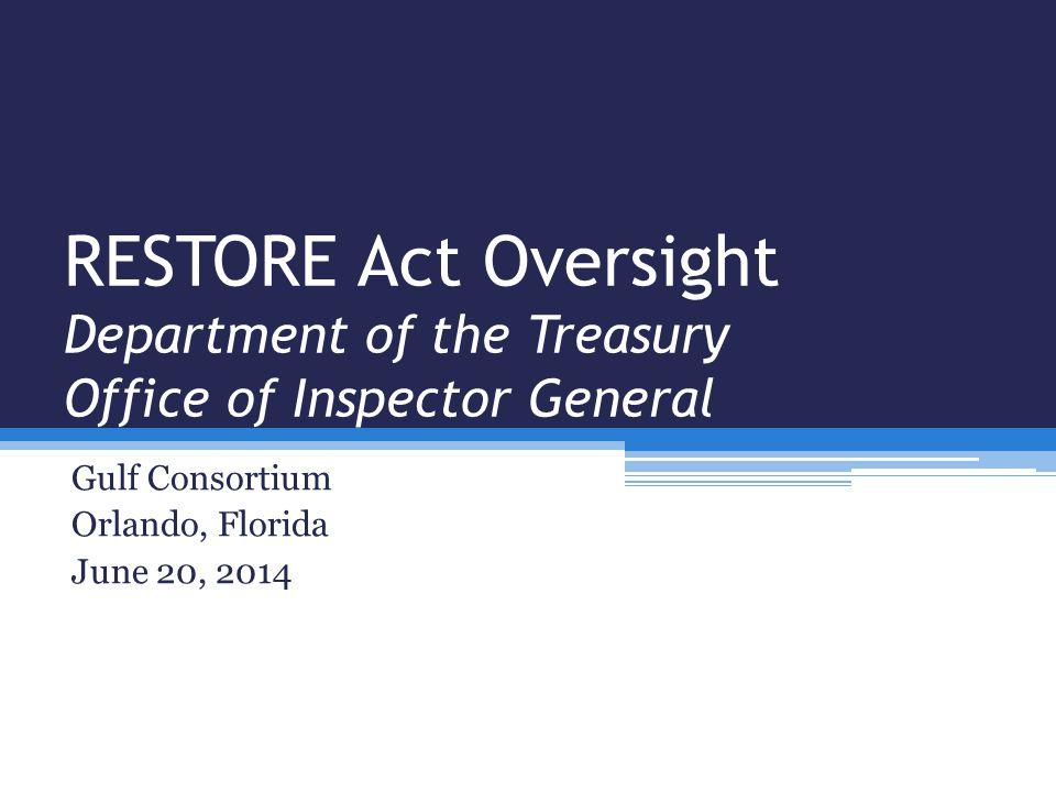 Gulf Consortium Orlando, Florida June 20, 2014