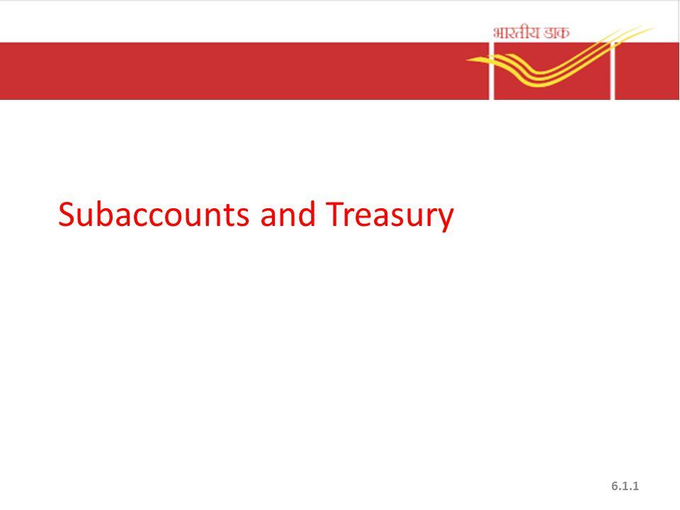 Subaccounts and Treasury