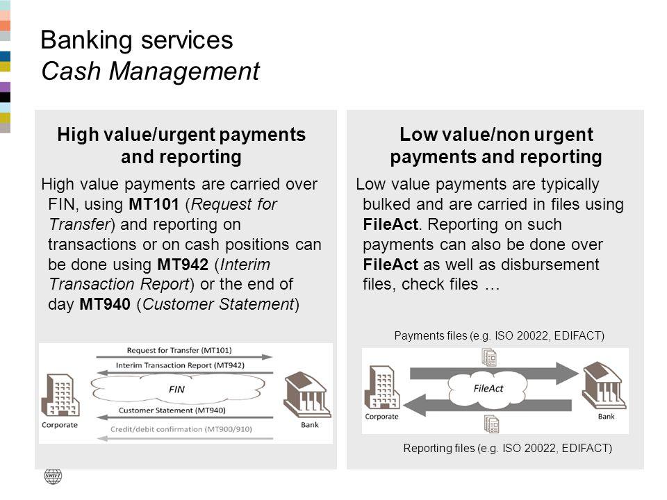 Banking services Cash Management