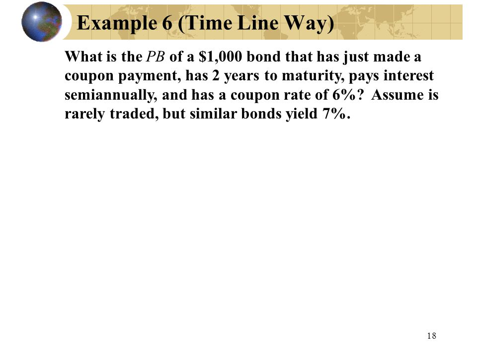 Example 6 (Time Line Way)