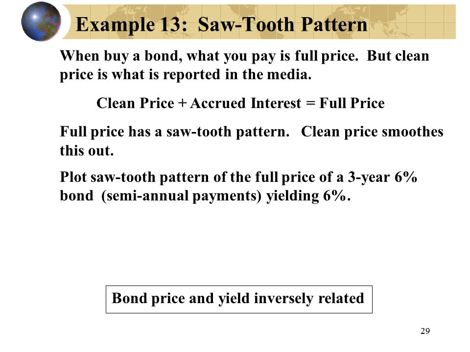 Example 13: Saw-Tooth Pattern