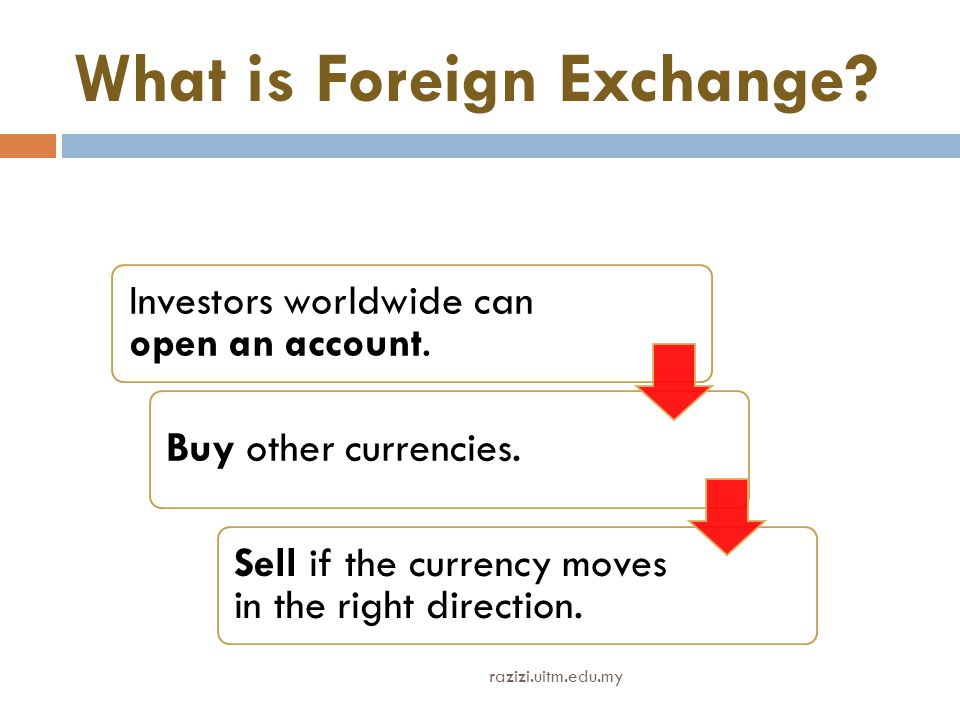What is Foreign Exchange