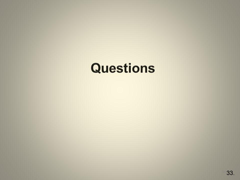 Questions 33.