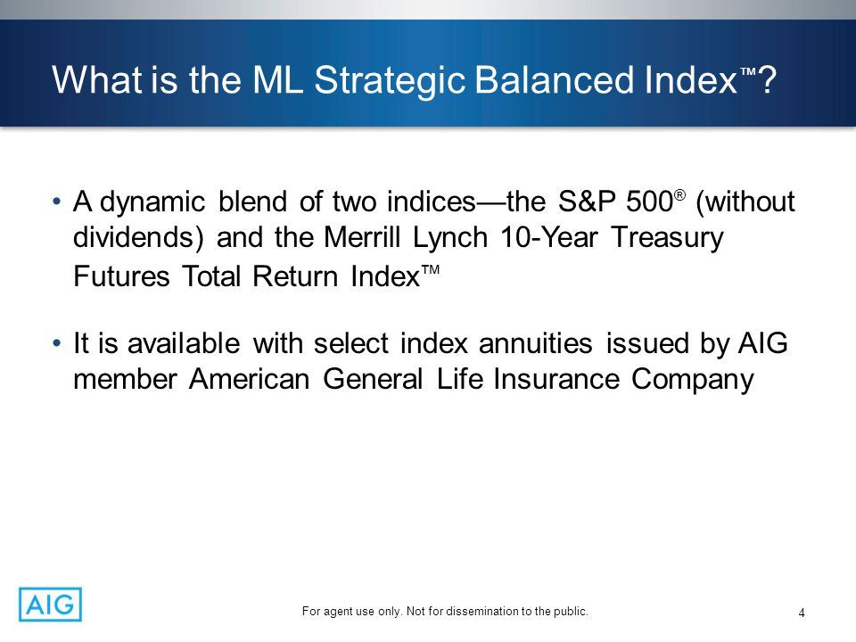 What is the ML Strategic Balanced Index™