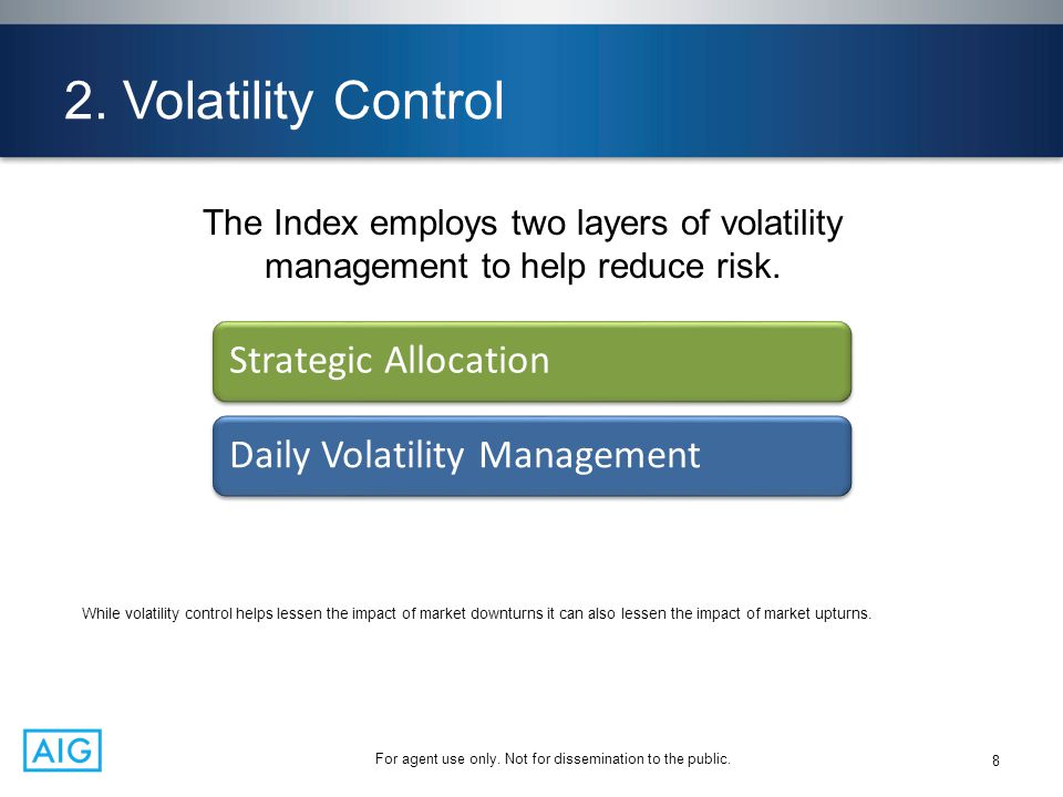 2. Volatility Control Strategic Allocation Daily Volatility Management