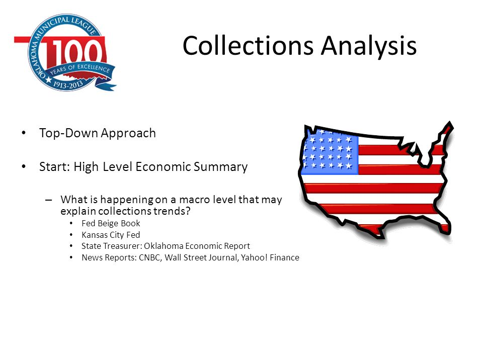 Collections Analysis Top-Down Approach