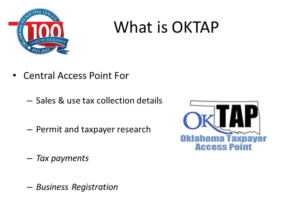 What is OKTAP Central Access Point For