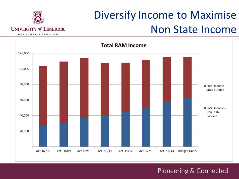 Diversify Income to Maximise Non State Income