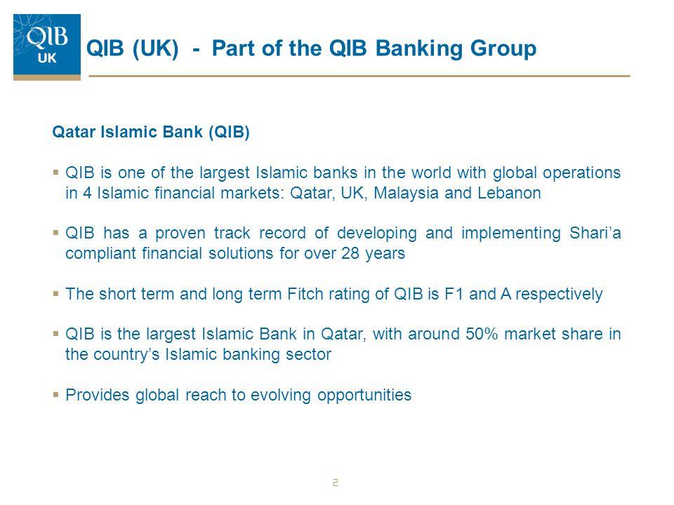 QIB (UK) - Part of the QIB Banking Group