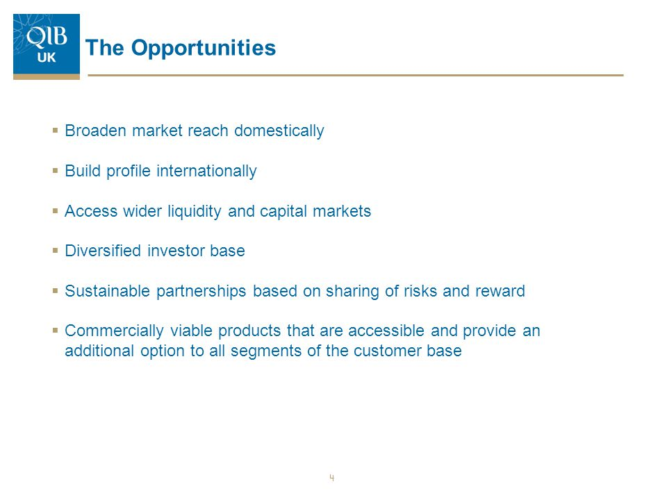 The Opportunities Broaden market reach domestically