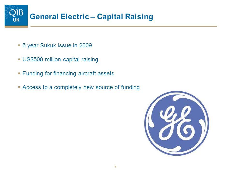 General Electric – Capital Raising