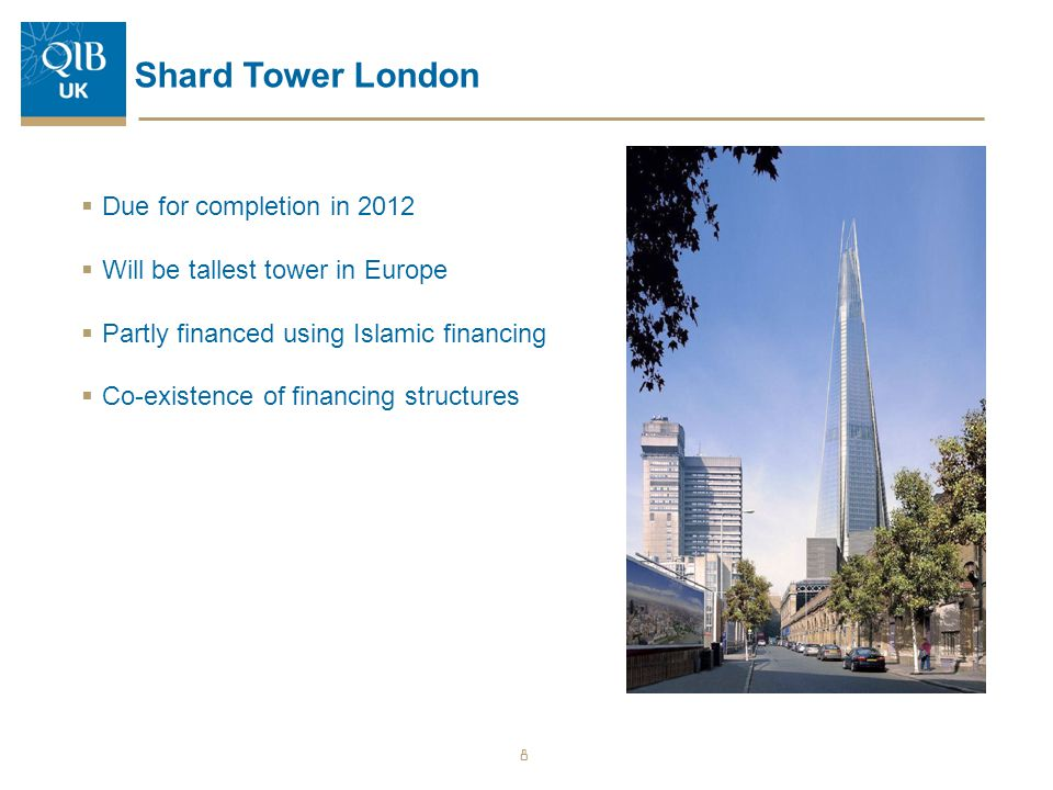 Shard Tower London Due for completion in 2012