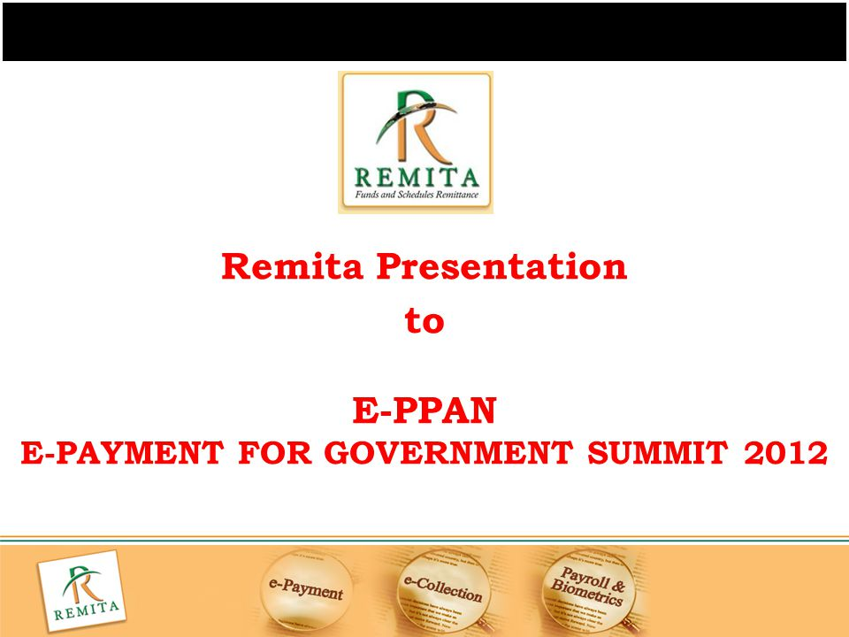 E-PAYMENT FOR GOVERNMENT SUMMIT 2012
