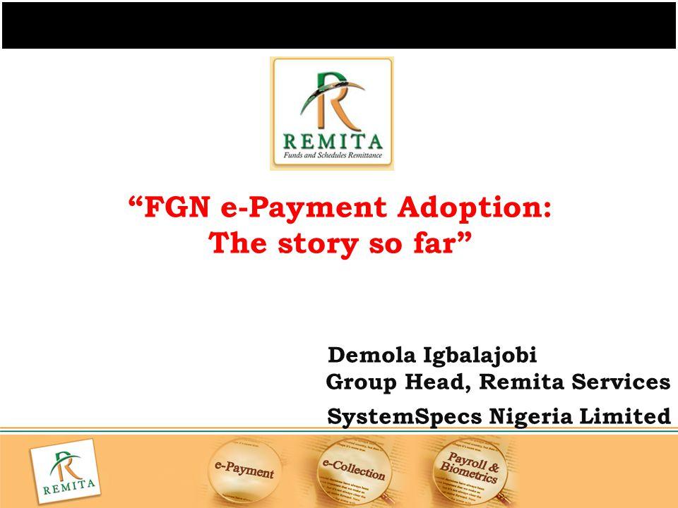 FGN e-Payment Adoption: