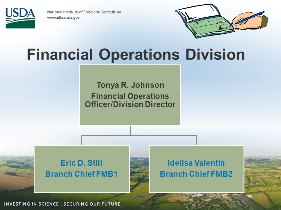 Financial Operations Division