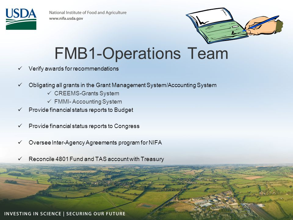 FMB1-Operations Team Verify awards for recommendations