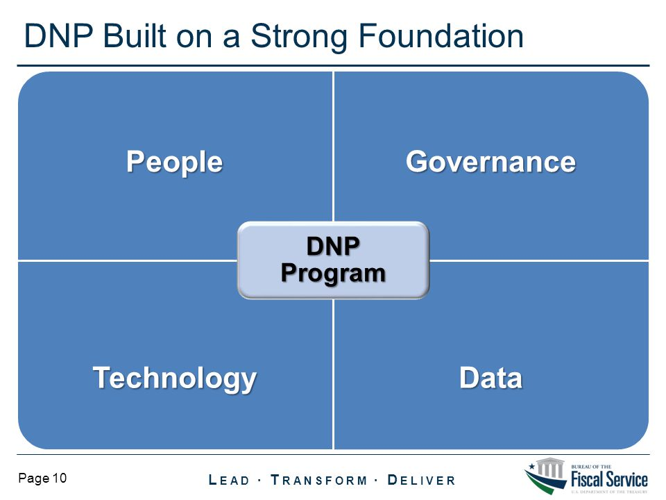 DNP Built on a Strong Foundation
