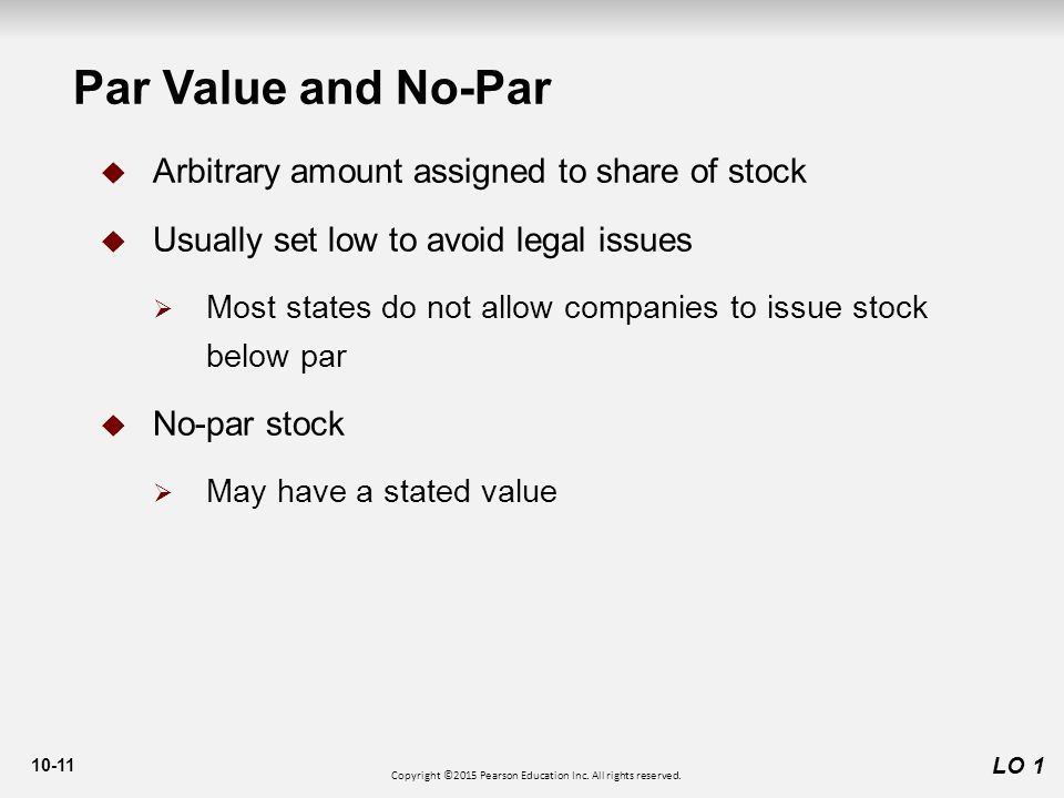 par valuation articles and reviews for incorporation