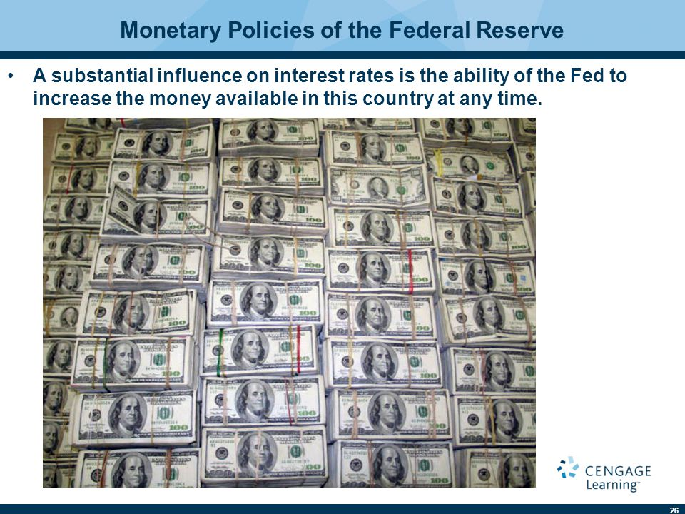 Monetary Policies of the Federal Reserve